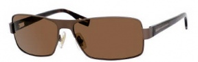Hugo Boss 0316/S Sunglasses Sunglasses - 0YCH Semi Matte Brown / Havana (VW Brown Polarized Lens)