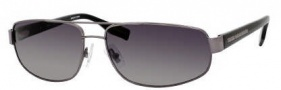 Hugo Boss 0320/S Sunglasses Sunglasses - 0V81 Dark Ruthenium Black (WJ Gray SH Polarized Lens)