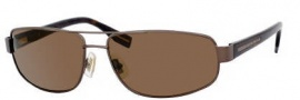 Hugo Boss 0320/S Sunglasses Sunglasses - 0YCH Semi Matte Brown Havana (VW Brown Polarized Lens)