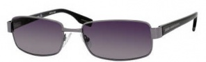 Hugo Boss 0321/S Sunglasses Sunglasses - 0V81 Dark Ruthenium Black (WJ Gray SH Polarized Lens)