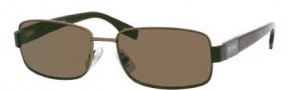 Hugo Boss 0336/S Sunglasses Sunglasses - 0URI Dark Olive Brown (70 Brown Lens)