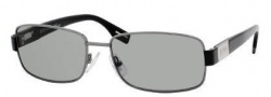 Hugo Boss 0336/S Sunglasses Sunglasses - 0V81 Dark Ruthenium Black (5L Gray Green Lens)