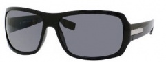 Hugo Boss 0340/S Sunglasses Sunglasses - 0D28 Shiny Black (TD Smoke Polarized Lens)