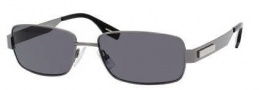 Hugo Boss 0356/S Sunglasses Sunglasses - 0KJ1 Dark Ruthenium (TD Smoke Polarized Lens)