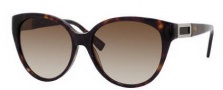 Hugo Boss 0372/S Sunglasses Sunglasses - 0086 Dark Havana (CC Brown Gradient Lens)