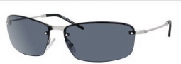 Hugo Boss 0391/S Sunglasses Sunglasses - 0011 Matte Palladium (QF Smoke Lens)