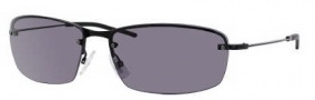 Hugo Boss 0391/S Sunglasses Sunglasses - 0006 Shiny Black (DO Smoke Lens)