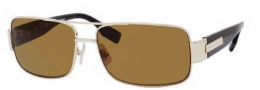 Hugo Boss 0394/P/S Sunglasses Sunglasses - 086Q Light Gold Dark Havana (VW Brown Polarized Lens)