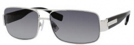 Hugo Boss 0394/P/S Sunglasses Sunglasses - 084J Palladium Black (WJ Gray SH Polarized Lens)