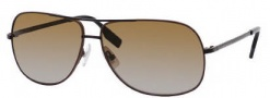 Hugo Boss 0395/P/S Sunglasses Sunglasses - 0WMT Brown Black (M4 Brown Gradient Lens)