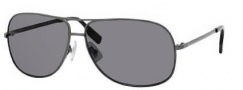 Hugo Boss 0395/P/S Sunglasses Sunglasses - 0KJ1 Dark Ruthenium (RA Gray Polarized Lens)