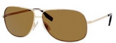 Hugo Boss 0395/P/S Sunglasses Sunglasses - 0J5G Gold (VW Brown Polarized Lens)