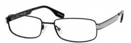 Hugo Boss 0350 Eyeglasses Eyeglasses - 0UVJ Semi Black Ruthenium