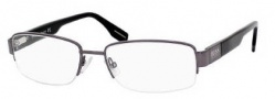 Hugo Boss 0351 Eyeglasses Eyeglasses - 0V81 Dark Ruthenium Black 