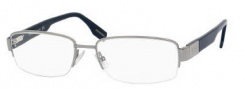Hugo Boss 0351 Eyeglasses Eyeglasses - 0RAY Ruthenium Blue 