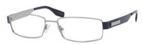 Hugo Boss 0374 Eyeglasses Eyeglasses - 01O3 Ruthenium Matte Blue