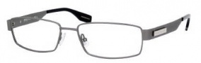 Hugo Boss 0374 Eyeglasses Eyeglasses - 0R80 Semi Matte Dark Ruthenium