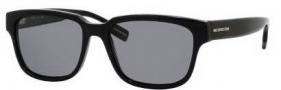 Hugo Boss 0406/U/P/S Sunglasses Sunglasses - 0807 Black (Y2 Gray Polarized Lens)