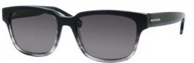 Hugo Boss 0406/U/P/S Sunglasses Sunglasses - 0E4S Black Gray Striped (WJ Gray SHPolarized Lens)