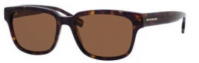 Hugo Boss 0406/U/P/S Sunglasses Sunglasses - 0086 Dark Havana (VW Brown Polarized Lens)