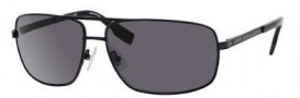 Hugo Boss 0424/P/S Sunglasses Sunglasses - 0003 Matte Black (RA Gray Polarized Lens)
