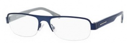 Hugo Boss 0414 Eyeglasses Eyeglasses - 0WXT Matte Blue Gray 