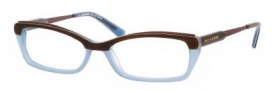 Juicy Couture Clever Eyeglasses  Eyeglasses - 0IPR Havana Blue