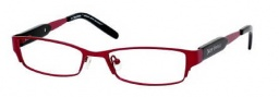 Juicy Couture Juicy 100 Eyeglasses Eyeglasses - 0ER1 Deep Garnet 