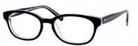 Juicy Couture Juicy 101 Eyeglasses Eyeglasses - 0JXF Black Crystal