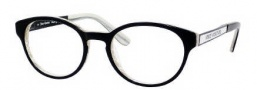 Juicy Couture Juicy 102 Eyeglasses Eyeglasses - 0EUB Black / White