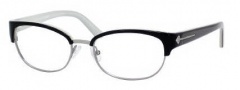 Juicy Couture Juicy 103 Eyeglasses Eyeglasses - 0DK1 Black Ivory Pearl 