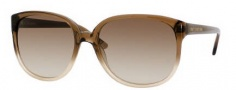 Juicy Couture Juicy 502/S Sunglasses Sunglasses - 0JAQ Brown Fade (Y6 Brown Gradient Lens)