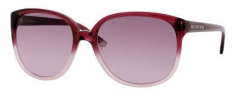 Juicy Couture Juicy 502/S Sunglasses Sunglasses - 0JAS Burgundy Fade (GM Brown Lavender Lens)