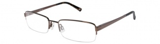 JOE Eyeglasses JOE4002 Eyeglasses - Coffee