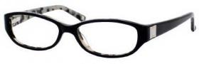 Liz Claiborne 375 Eyeglasses Eyeglasses - 0ESU Black Ivory