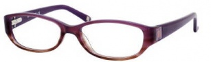 Liz Claiborne 375 Eyeglasses Eyeglasses - 0R3y Violet Brown