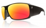Electric D. Payne Sunglasses Sunglasses - Matte Black / Grey Fire Chrome