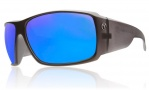Electric D. Payne Sunglasses Sunglasses - Matte Charcoal / Grey Blue Chrome