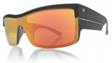 Electric Shotglass Sunglasses Sunglasses - Matte Black / Grey Fire Chrome