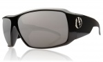 Electric KB1 Sunglasses Sunglasses - Gloss Black / Visual Evolution Silver Polarized Level II