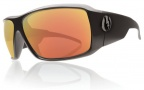 Electric KB1 Sunglasses Sunglasses - Matte Black / Grey Fire Chrome