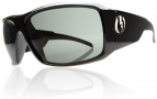 Electric KB1 Sunglasses Sunglasses - Matte Black / Grey Green Chrome