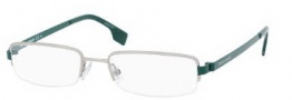 Boss Orange 0021 Eyeglasses Eyeglasses - 0AAF Matte Pallladium Green