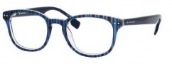 Boss Orange 0023 Eyeglasses Eyeglasses - 0AB6 Blue Striped Blue