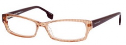 Boss Orange 0027 Eyeglasses Eyeglasses - 0S77 Orange Striped Burgundy