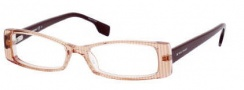 Boss Orange 0028 Eyeglasses Eyeglasses - 0S77 Orange Striped Burgundy