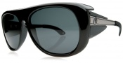 Electric Fiend Sunglasses Sunglasses - Gloss Black / Grey Mineral Glass Polarized Level III