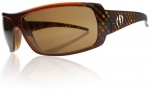 Electric Charge Sunglasses Sunglasses - Amber Hatch / Bronze Lens