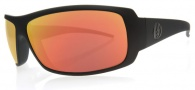 Electric Charge Sunglasses Sunglasses - Matte Black / Grey Fire Chrome