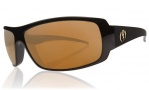 Electric Charge Sunglasses Sunglasses - Gloss Black / Bronze Gold Visual Evolution Polarized Level II